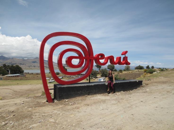 Leaving Peru