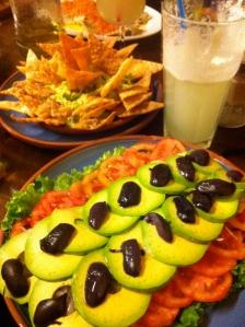 Fresca Salas, nachos,limonada