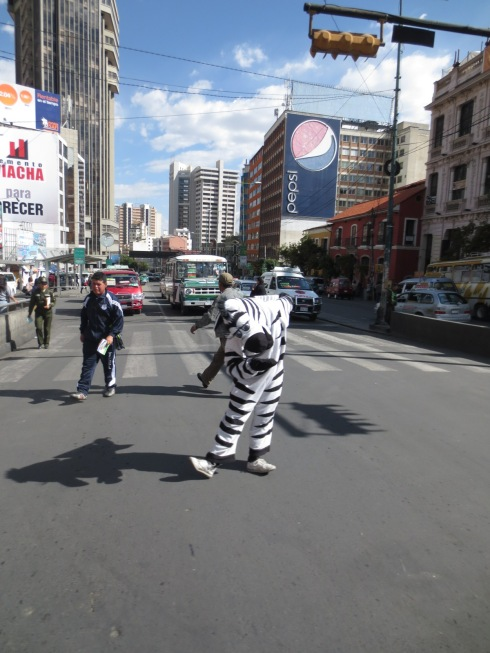 Zebra crossings... literally