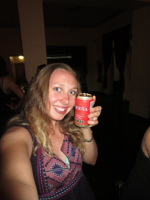 Enjoying Local Beverages