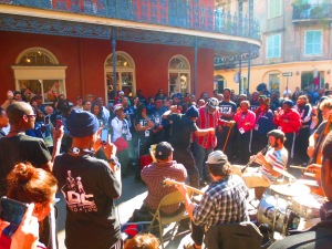New Orleans - jazz in the streets