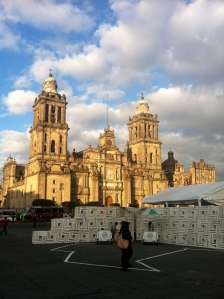 The Zocalo and Cathedral