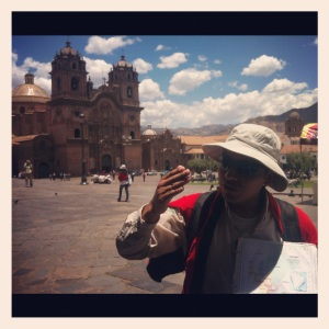 Jaime of amazonas explorers in Cusco, Peru