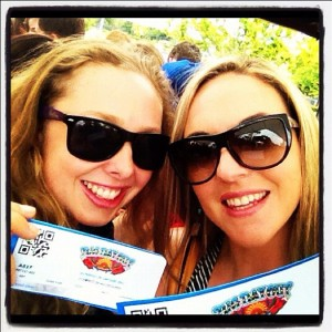 Big Day Out Melbourne 2013 with the awesome ExplorerGirl Courtney Crow
