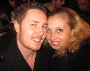 Big Brother Jamesie and I on Australia Day, in London, 2011