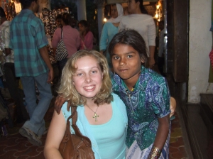A beautiful little street girl in Mumbai on my second visit in 2006, who i'm pretty sure scammed me, but also helped me to have an amazing time and feel safe in a crazy city!