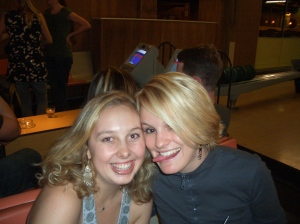 My bestie, roomie, co-worker, gym buddie and awesome friend Jen in London 2006