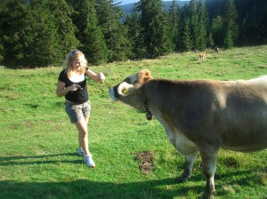 Meeting the locals in Austria