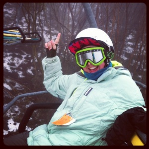 Emma at Mt Buller 2012