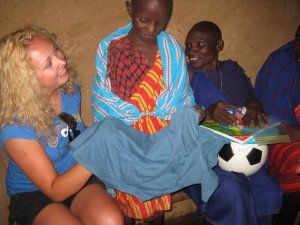 Meeting my sponsor child and his mother in Tanzania, Africa