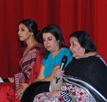 Vidya Balan, Farah Khan, Pamela Chopra - IFFM Website  Source: http://www.iffm.com.au/opening.html
