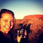 Loving life at Uluru in NTAustralia