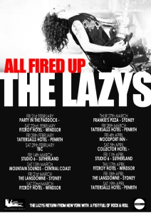 Lazys Poster 2014