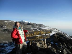Gilamans Point, Kilimanjaro, Climbed in 2011
