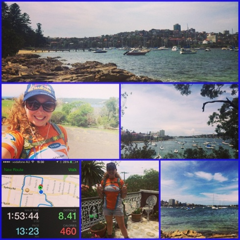 World Vision #Everestbasecamptrek2015 training at Manly