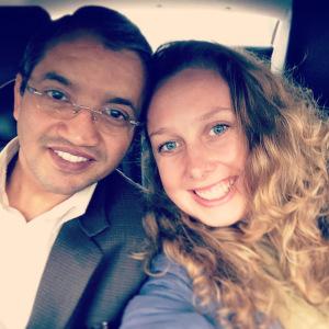 Meeting my friend Sundar again