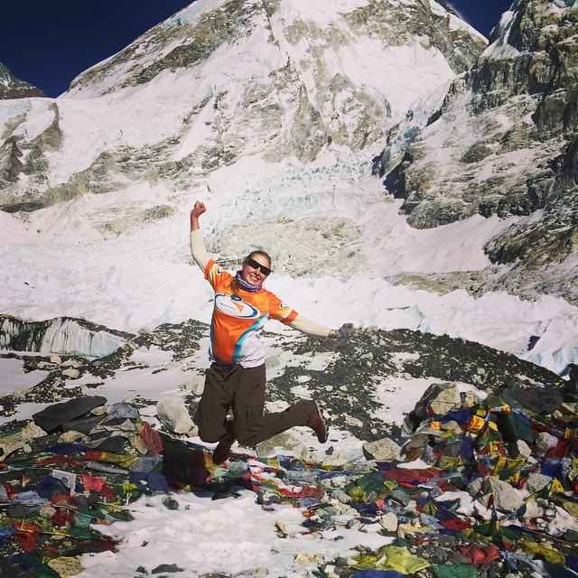 Jumping_for_joy_over__prayerflags_at__everestbasecamp___worldvisionaus__98_000_raised___inspiredadventures_thank_you___everestbasecamptrek2015