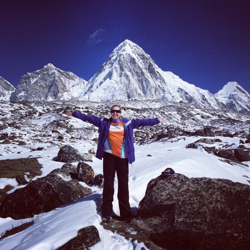 Welcome_to_my_mountains__Represent__worldvisionaus_._Between__Lobuche____gorekshep__everestbasecamptrek2015
