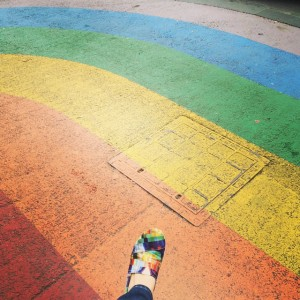 So_much__rainbow___rainbowshoes__toms__rainbowstreet.__lovewins