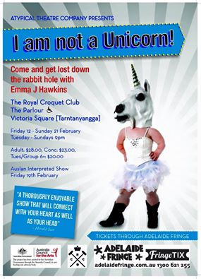 i am not a unicorn POSTER image