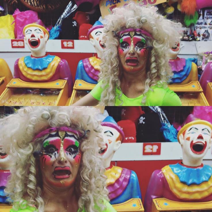 Betty Grumble clown