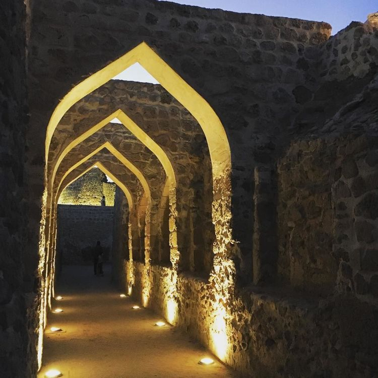 magical_lighting_brings_the__bahrainfort_to_life_at_night