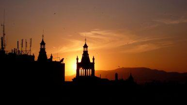 Granada sunset, Photo credit: Clinton Ross