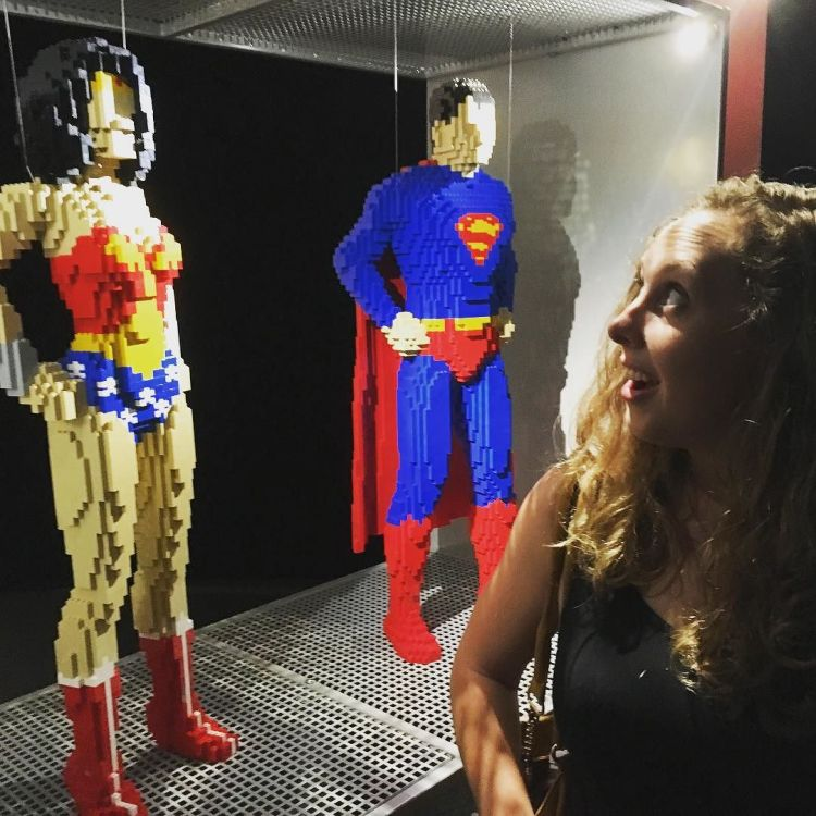 being_a__fangirl_at__dccomics_exhibition_at__powerhousemuseum-__wonderwoman____superman_in__lego__awesome______sydney__ilovelego__fan__bigkid