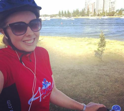 my_smile_may_give_away_that_i_enjoyed_my__sunday__bikeride-_beautiful_weather_and_a_pretty_good_view_of_the_marina_from__broadwaterparklands-_oh_and_feeling_the__cycle_vibes_wearing_my__cambodia_cycle