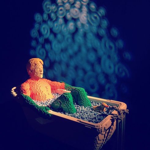 one_of_my_favorites_at__dccomics__lego_exhibition_at__powerhousemuseum__sydney-__aquaman_in_the_bath____a_light_a_section_of_the_exhibition_where_the_artist_for_creative_with_the_characters