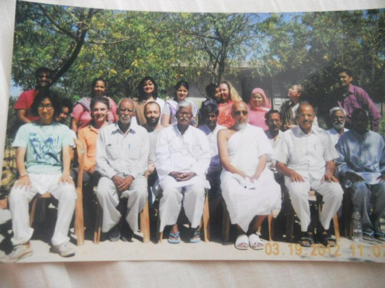 Vipassana class photo