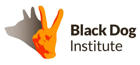 The Black Dog Institute Logo for mental health awareness